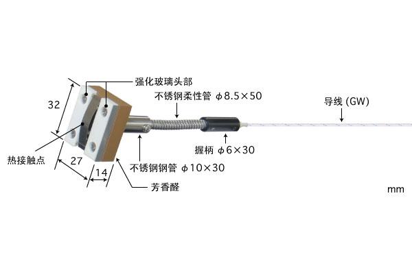 K型热电偶:MG-64K-GW1-ANP