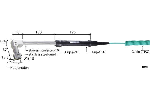 K型热电偶:SX-174K-01-1-TPC1-ANP