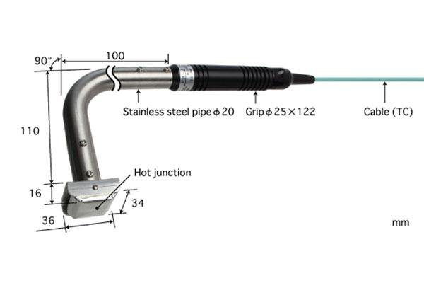 K型热电偶:620K-010-TC1-ANP