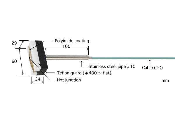 E型热电偶:U-211E-01-D0-0-TC1-W