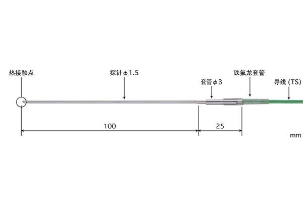 K型热电偶:BS-11K-010-TS1-ANP