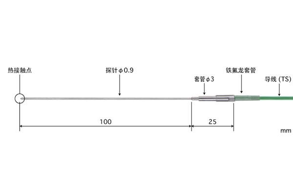 K型热电偶:BS-91K-010-TS1-ANP