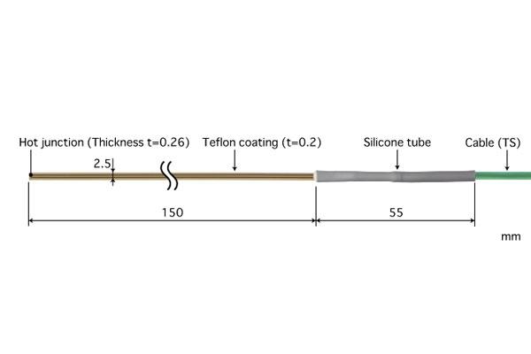 E型热电偶:ST-42E-015-TS1-ANP