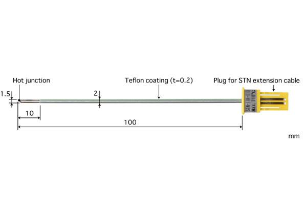 K型热电偶:STN-31K-010