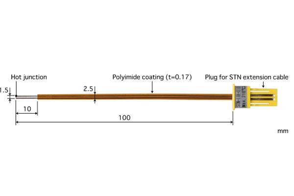E型热电偶:STN-43E-010