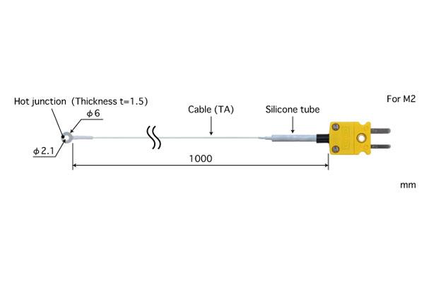 K型热电偶:SC-21K-TA1-ANP