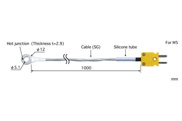 E型热电偶:SC-52E-SG1-ANP