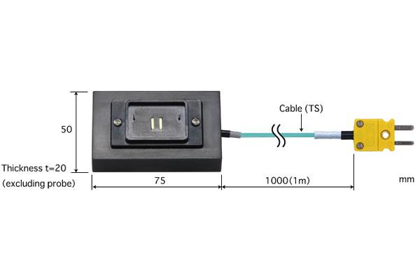 K型热电偶:CRB-K-TS1-ANP