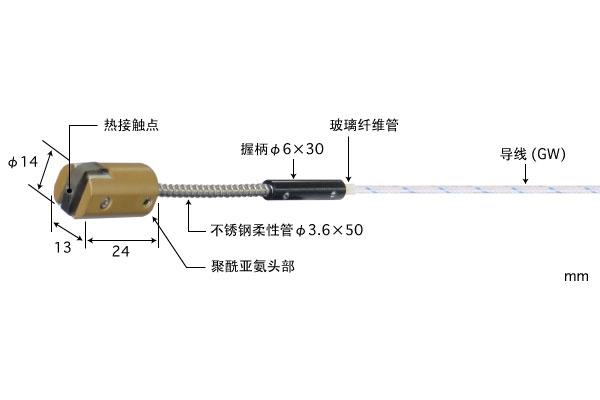 K型热电偶:MG-24K-GW1-ANP