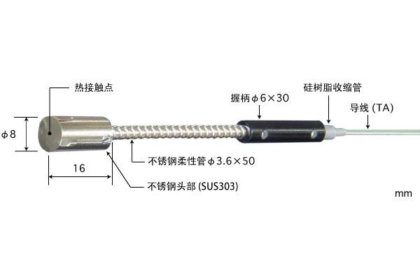 K型热电偶:MG-33K-TA1-ANP