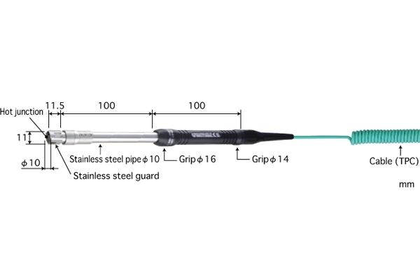 K型热电偶:SX-371K-01-1-TPC1-ANP