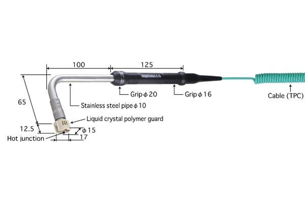 K型热电偶:SX-163K-01-1-TPC1-ANP