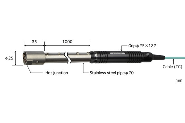 K型热电偶:HHT-51K-10-TC1-ANP