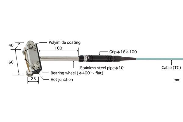 K型热电偶:U-221K-01-D0-1-TC1-ANP