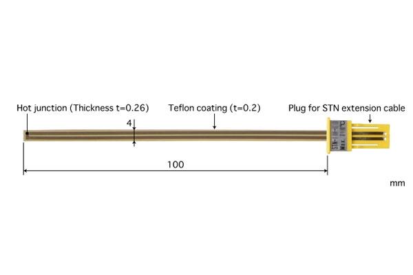 K型热电偶:STN-22K-010