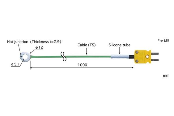 K型热电偶:SC-51K-TS1-ANP
